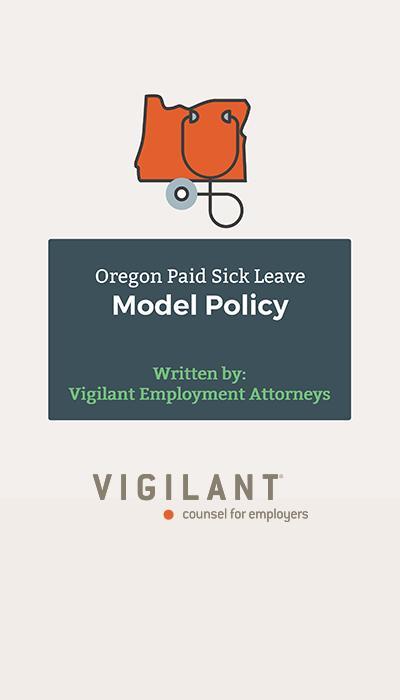 Oregon Sick Leave Model Policy logo