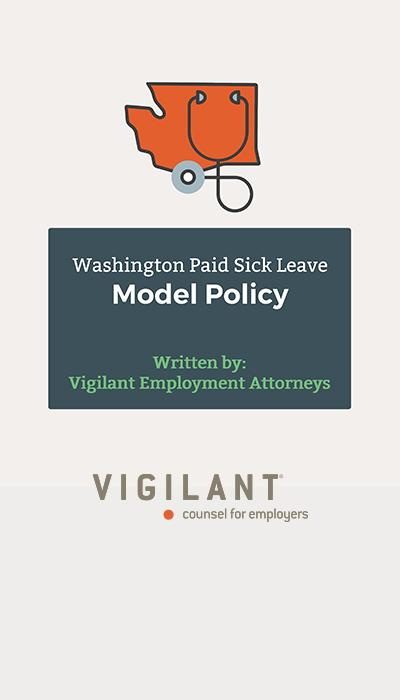 Washington Paid Sick Leave Model Policy logo